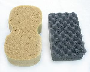 CSS-07 Car Wax Wave-Shaped Sponge